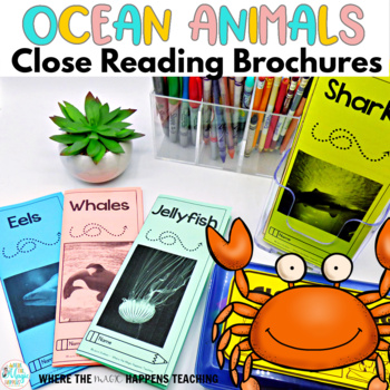 Ocean Animals Close Reading Passages with Questions