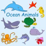 Ocean animals clipart FREE download