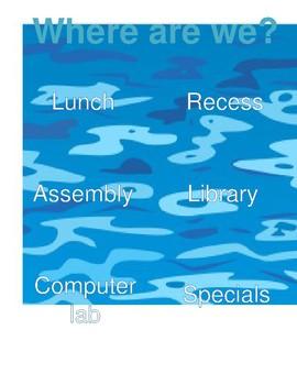 Ocean class location poster
