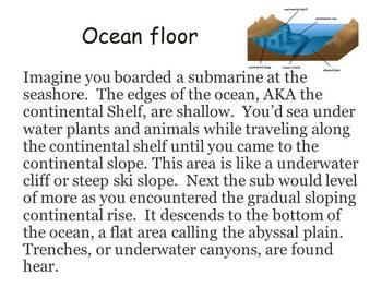 Ocean floor card game and more freebie