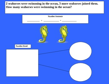 Ocean math mat 2 (number sentence and number bond)