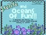 Ocean theme Language and Literacy Unit for Centers or Speech Language Therapy