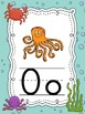 Ocean themed Alphabet ABC Posters