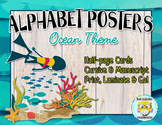 Alphabet Posters - Ocean theme
