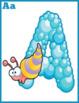 Ocean themed Alphabet Posters Instant Download PDF; Presch