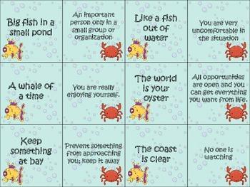 Ocean-themed Language Activities