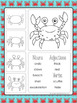 Writing Center Activities for 2nd Grade and 3rd Grade Ocean Theme (May)