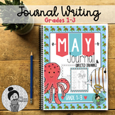 Writing Center for 2nd Grade and 3rd Grade Ocean Theme (May) Distance Learning