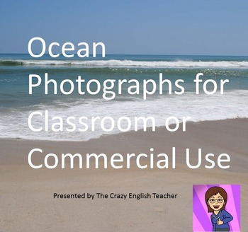 Ocean/Beach Photographs Clipart for Commercial and Classroom