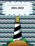 Nautical Themed Teacher Binder/Planner