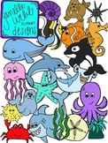 Ocean/Under the Sea {Janelle Webb Designs Digital Clip Art}