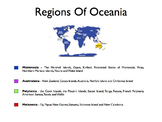 Oceania - A World Region PowerPoint
