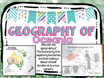 Oceania Biome and Geography Hunt