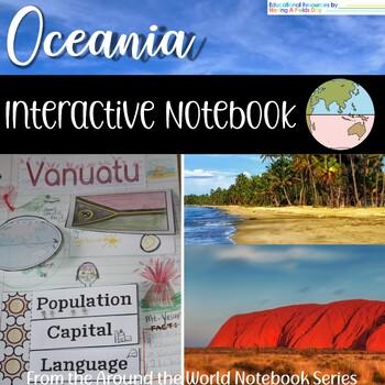Oceania Interactive Notebook