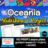Oceania Lesson & Project