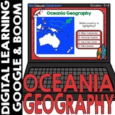 Oceania Map and Geography DIGITAL Cards | Google Classroom