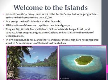 Oceania Unit PowerPoint