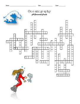 Oceanography: A Crossword Puzzle