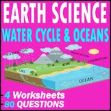 Oceanography & Hydrology | Water Cycle & Oceans | Earth Science | 80 Questions