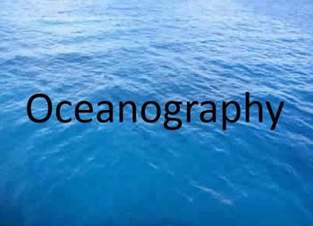 Oceanography Notes Bundle