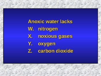 Oceanography Powerpoint Jeopardy®-Inspired Game