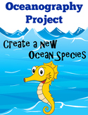 Oceanography Project – Create a new species