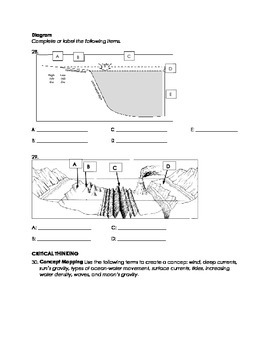 Oceanography - Remediation Packet