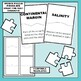 Oceanography Science Vocabulary Puzzles