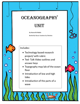 Oceanography Unit