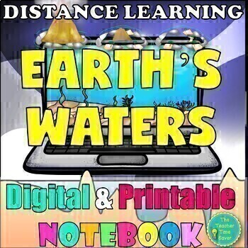 Earth's Waters Oceanography Curriculum | Distance Learning & Google Classroom