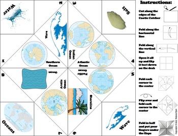 Oceans Unit Activity