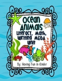 Oceans - A Literacy, Math, and Writing MEGA Unit