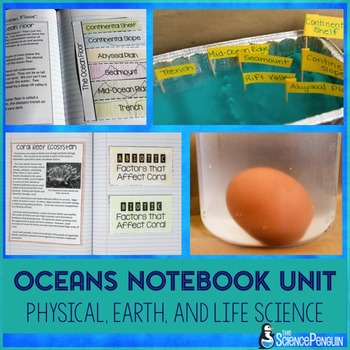 Oceans Science Notebook Unit