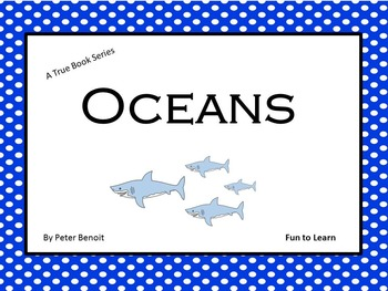 "Oceans  ""A True Book Series"""