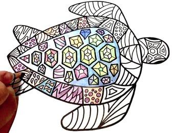 Ocean Animals: Ocean Coloring Pages