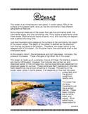 Oceans (Close Read) SOL 5.6
