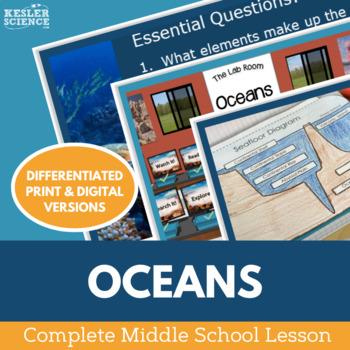Oceans Complete 5E Lesson Plan