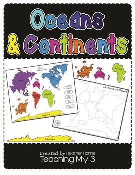 Oceans & Continents