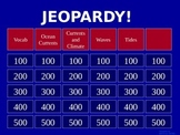 Oceans Currents - Jeopardy Review Game