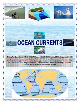 Oceans:  Currents and Global Winds (Engaging and Full of COLOR!)  Sail the Seas!