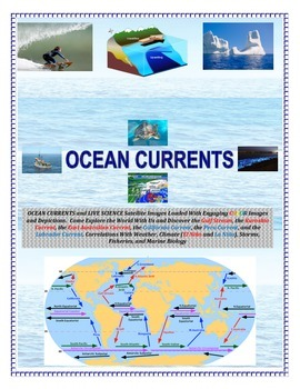 Oceans Currents and Space Satellites: Mind Blowing Images