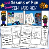 Oceans First Grade Sight Word Pack