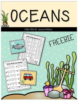 Oceans Freebie