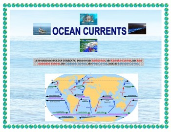 Oceans: Global Currents, Their Flow, and Features ( 6 Majo