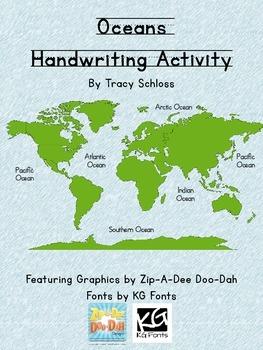 Oceans Handwriting