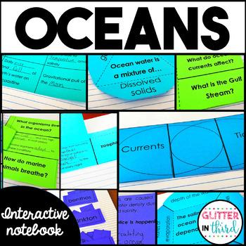 Oceans Interactive Notebook