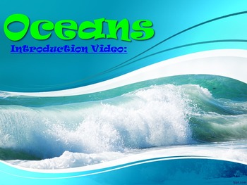 Oceans Introductory (Powerpoint & 3x Mini Labs)