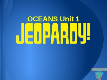 Oceans Jeopardy Game