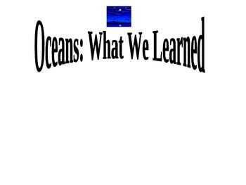 Oceans KWL