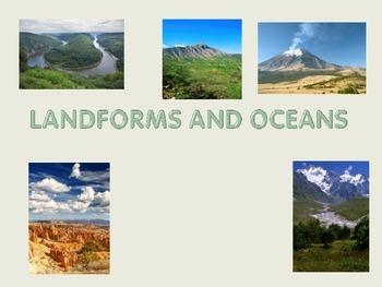 Oceans & Landforms Power Point
